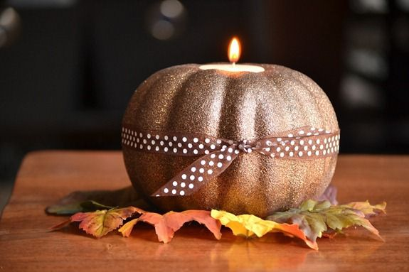 glittered pumpkins (15)