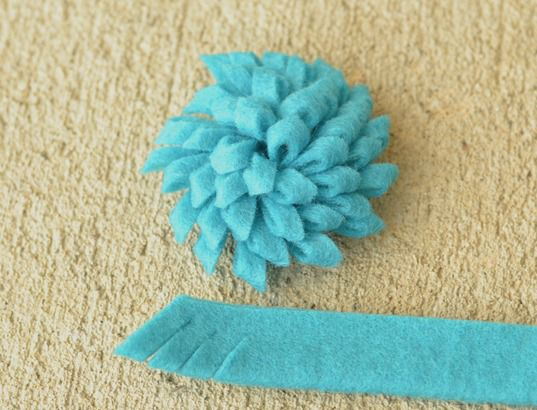 how to make felt flowers (19)
