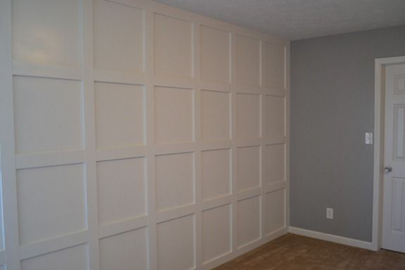 wall wood trim ideas