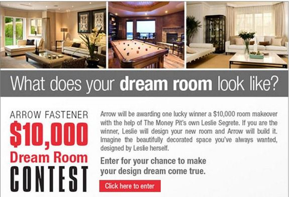 dream room contest