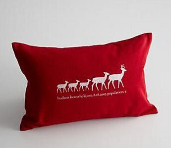 red envelope pillow