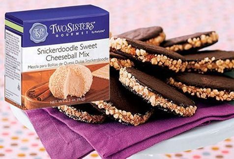 snickerdoodle cheese ball mix