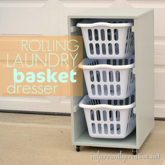 laundry basket square