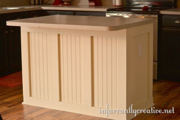 beadboard batten kitchen island