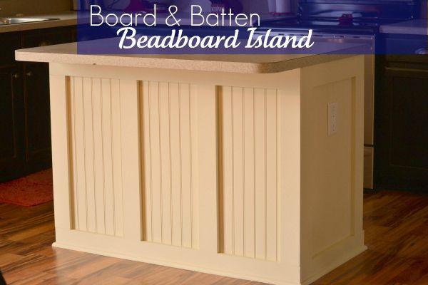Board Batten Beadboard Kitchen Island Infarrantly Creative