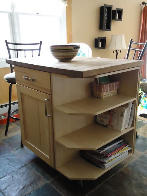 5 Ways To Fake A Kitchen Island Infarrantly Creative
