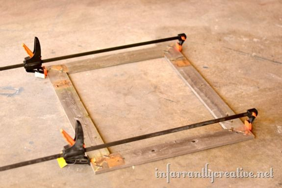 clamped-picture-frame