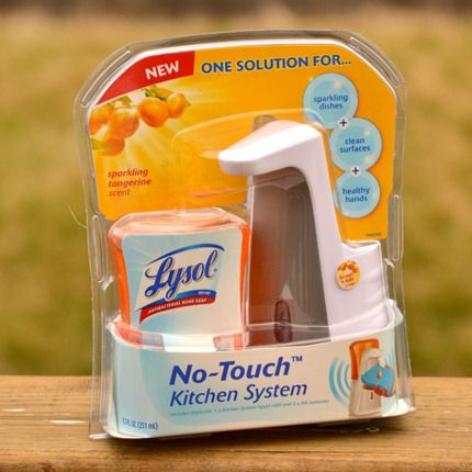 Lysol-no-touch-kitchen-system